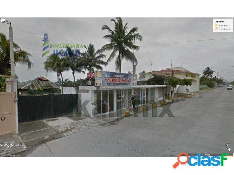 Local comercial Renta 1600 m² cerca playa Tuxpan Veracruz, La Calzada 1