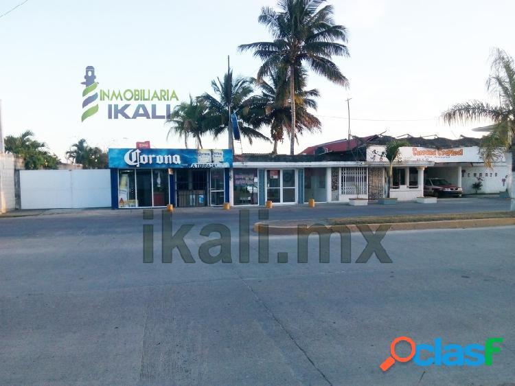 Local comercial Renta 1600 m² cerca playa Tuxpan Veracruz, La Calzada 2