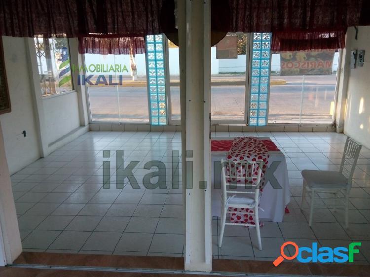 Local comercial Renta 1600 m² cerca playa Tuxpan Veracruz, La Calzada 3