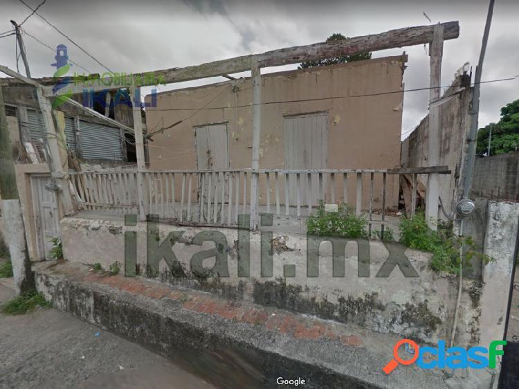 Venta Terreno 250 m² Centro Tuxpan Veracruz, Tuxpan de Rodriguez Cano Centro
