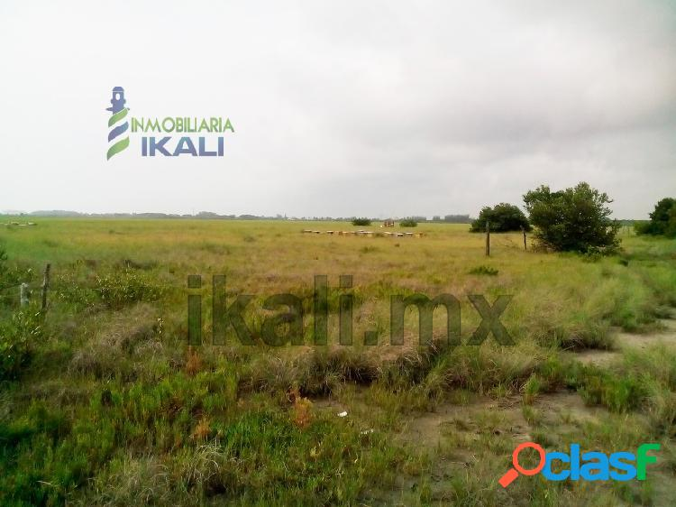 Venta terreno 36 hectáreas laguna tampamachoco tuxpan veracruz, petrolera