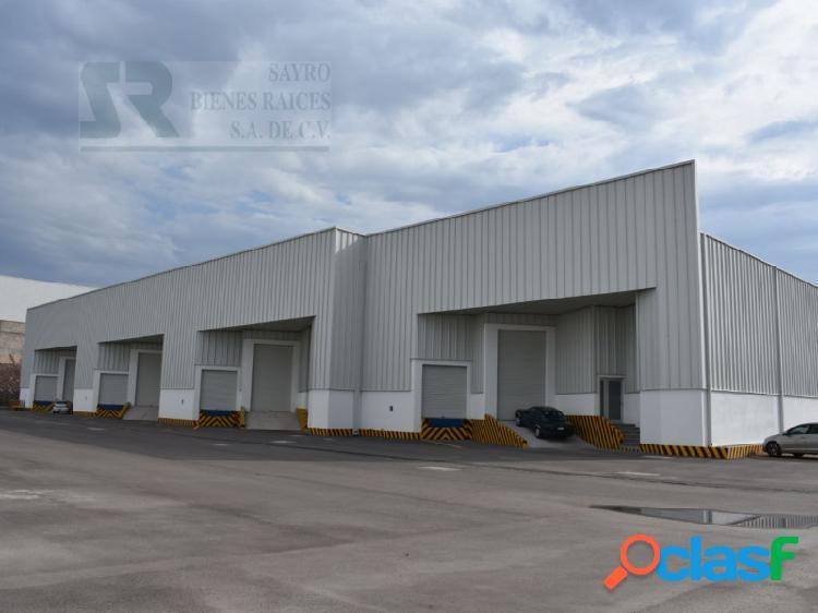 Bodegas industriales en renta, parque industrial bernardo quintana