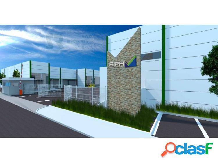 Nave industrial en renta parque industrial tlc, el paraíso