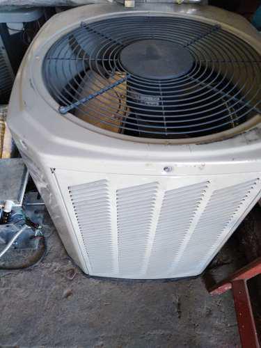 Aire acondicionado, 2 toneladas, trane, sistema, fan coil.