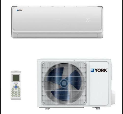 Aire acondicionado minisplit york 1.5 tr, solo frio