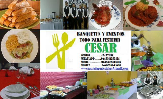 Banquetes y taquizas de guisados cesar