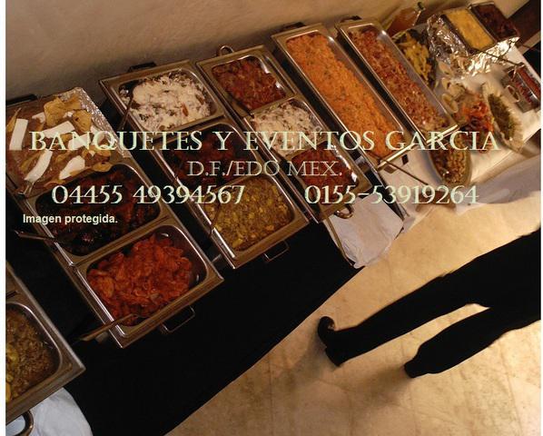 Banquetes economicos. ciudad de mexico. taquizas buffet.