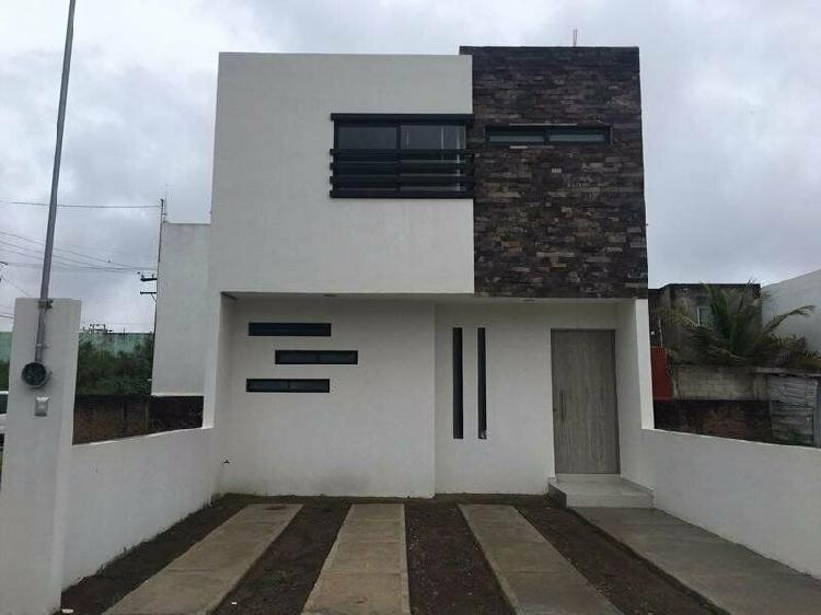 Col. graciano sanchez, casa en venta nueva de 3 recámaras /