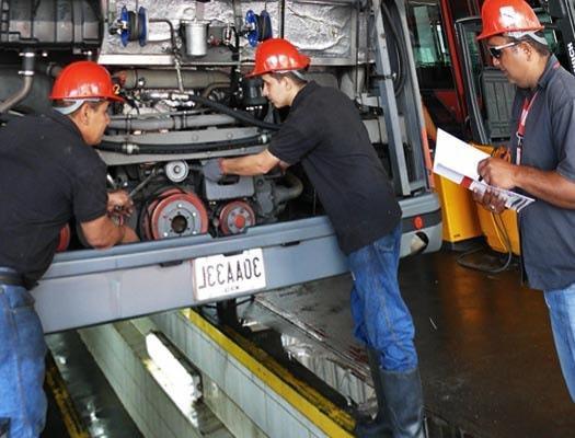 Curso servicio de mantenimiento a equipo y maquinaria