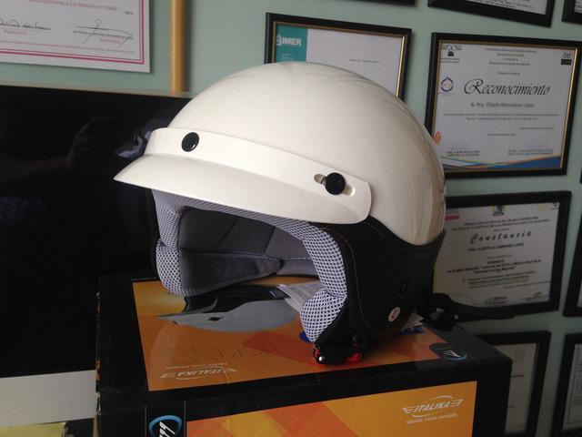 Casco vitalia para moto