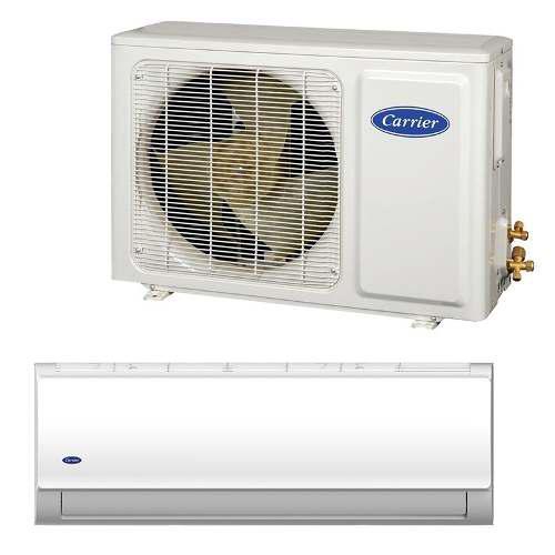Clima minisplit 1.5 ton aire acondicionado carrier 18000btu