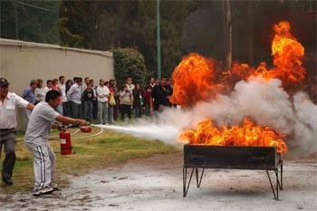 Curso básico de prevención y combate de incendios
