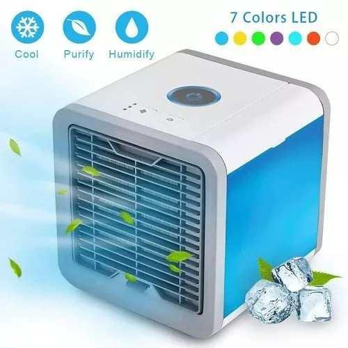 Enfriador aire portátil usb 3funciones ventilador