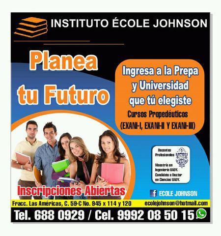 Examen de admisión universidad - cursos uady