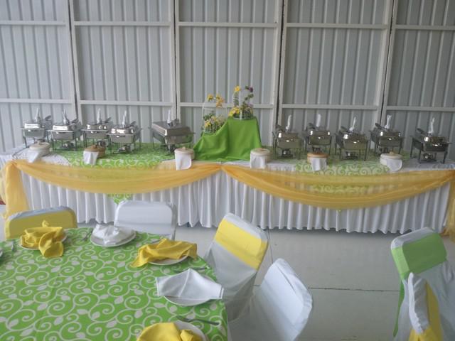 Taquizas, bocadillos, canapes y banquetes en general