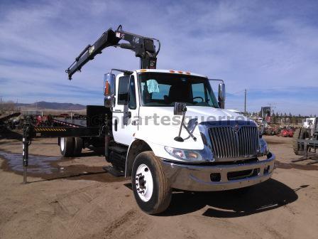 Vendo camión internacional con grúa hiab 166xs, cuauhtemoc