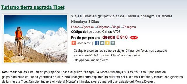 Viajes tibet en grupo: viajar de lhasa a zhangmu & monte