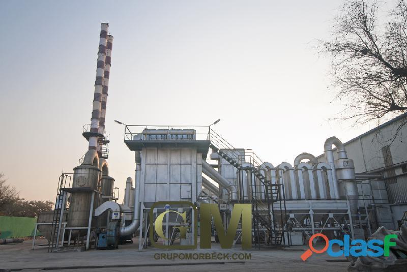 Extracción de partículas de plomo del aire