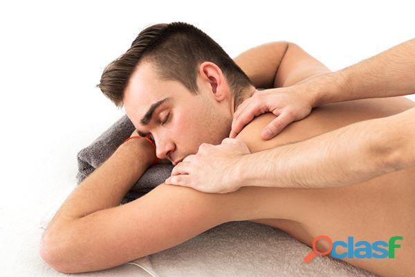 Masaje para dolor de cuello y espalda