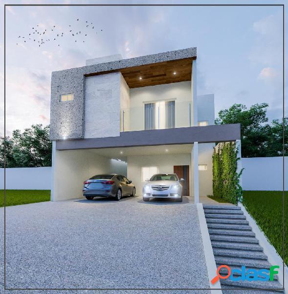 Casa venta alamo sur carretera nacional santiago nl $2,550,000