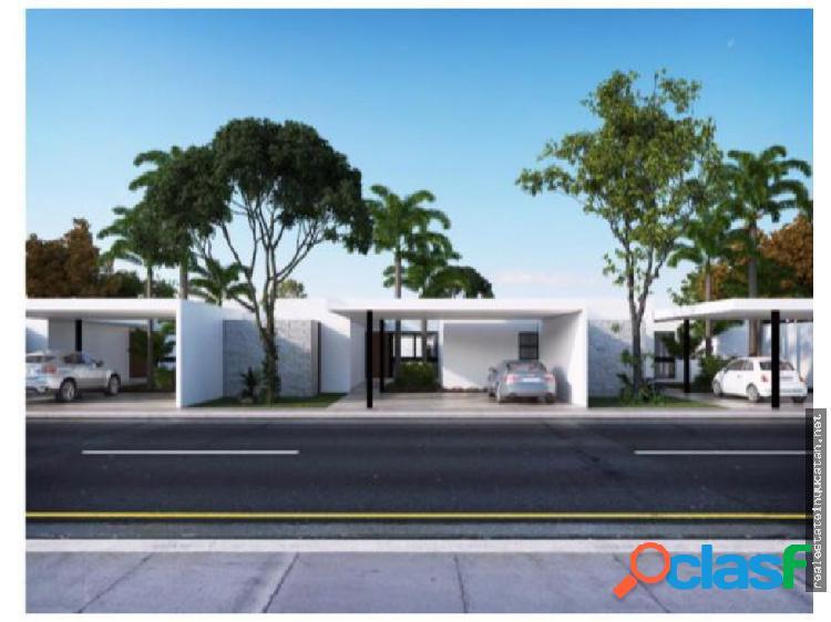Casas en cholul parque central yucatan
