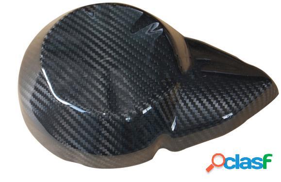 Cubierta del motor de fibra de carbono. motos kawasaki z750 de 2007 a 2012.