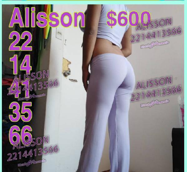 ALISSON GUAPA Y SEXY 500 CASI TERMINA LA PROMOCION