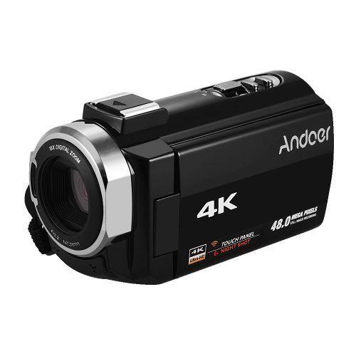 Andoer portátil 4k hd digital vídeo cámara de la