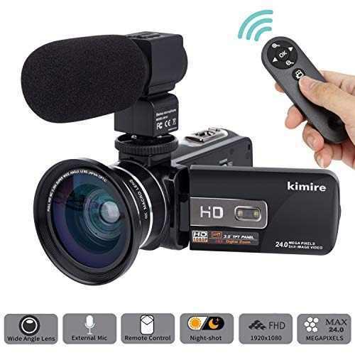Camara videocamara kimire hd 1080p 16x potente camara de vid