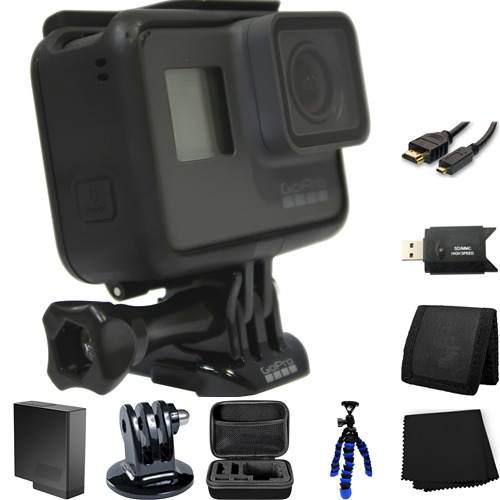 Gopro hero5 black edition cámara videocámara paquete de
