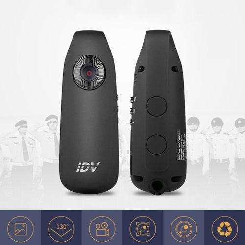 Hd 1080p mini videocámara guión leva cuerpo de la