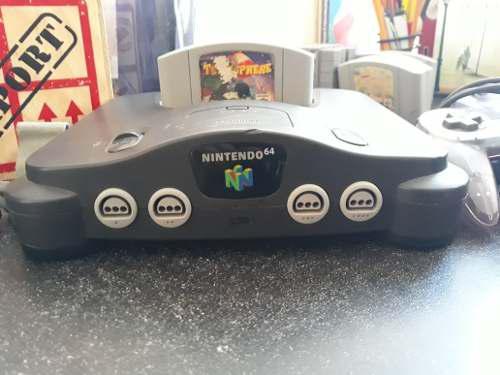 Nintendo 64 completo, original 1 juego