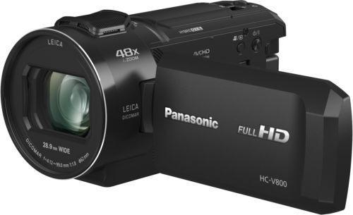 Panasonic videocámara de alta definición, lente dicomar x