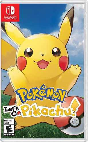 Pokemon let's go pikachu nintendo switch juego consola