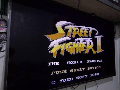 Street fighter famicom