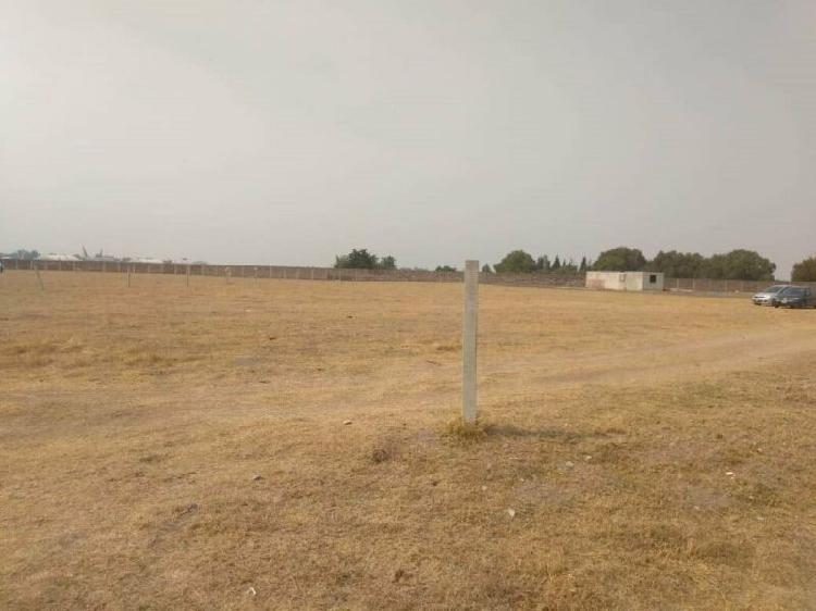 Terreno cerca del nuevo aeropuerto para inversionistas