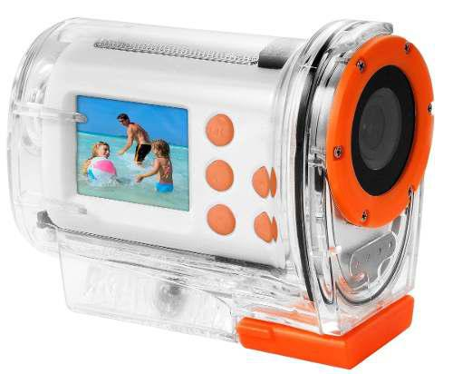 Videocamara digital fhd uso rudo acuática rca conaccesorios