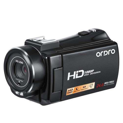 Videocámara, ordro v7- más práctico cámara hd 1080p