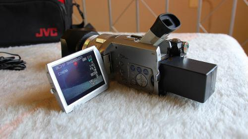 Videocámara panasonic dv 3ccd maleta, batería y cargador