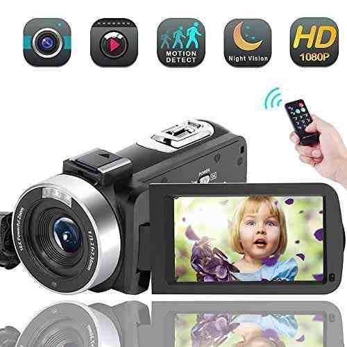 Videocámara sunlea hd 1080p 30fps 16x zoom visión nocturna