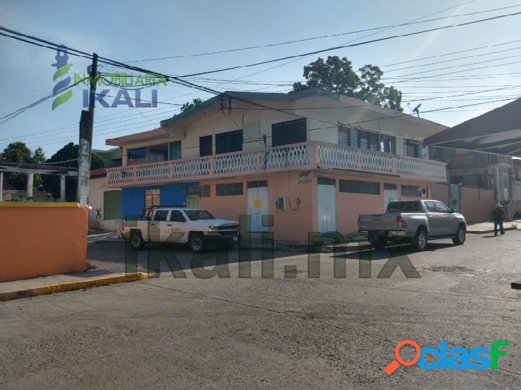 Renta local comercial 166 m² esquina centro tuxpan veracruz, tuxpan de rodriguez cano centro