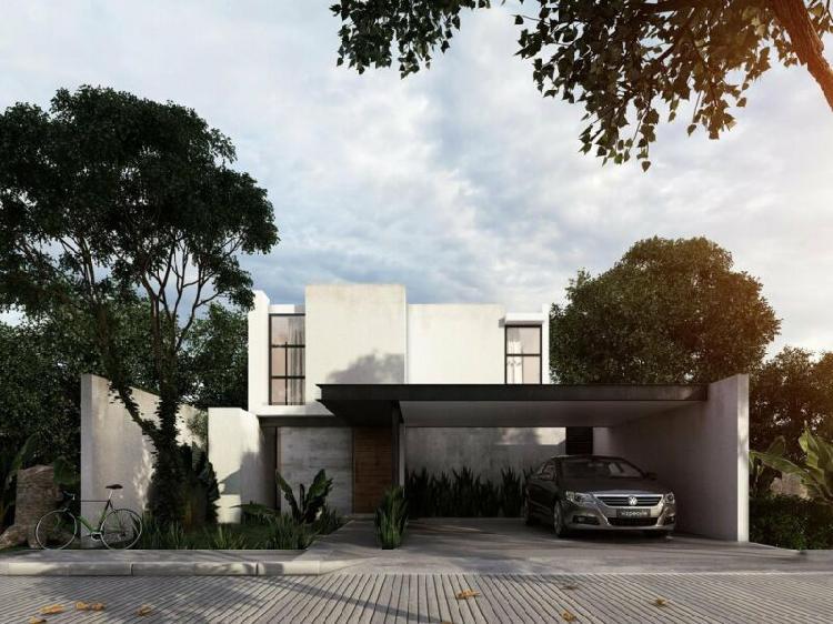 Casa nueva en venta en arbórea, modelo a, conkal, mérida
