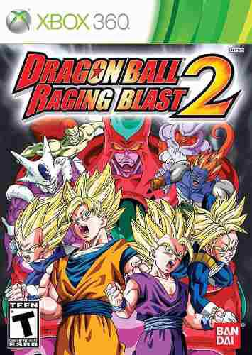 Dragon ball raging blast 2 - xbox 360 nuevo blakhelmet e