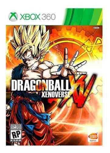 Dragon ball xv, halo 4 + juegos extra xbox 360 -