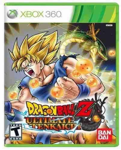 Dragon ball z ultimate tenkaichi xbox 360 nuevo juego