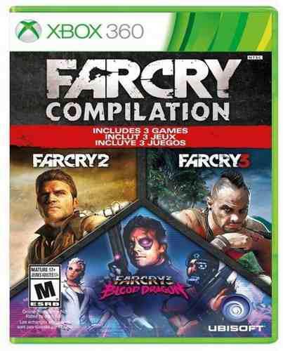 Far cry compilation xbox 360 nuevo sellado juego videojuego