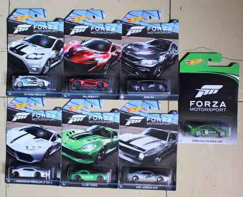 Hot wheels forza motorsport colección 2017