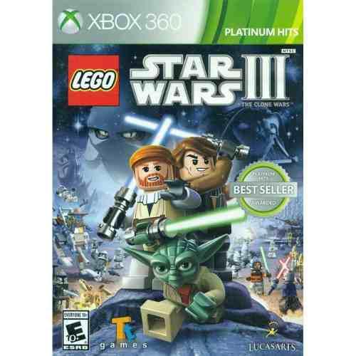 Juego lego star wars 3 xbox 360 usado original
