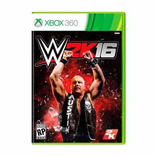 JUEGO WWE 2K16 XBOX 360 NUEVO ORIGINAL, usado segunda mano  México (Todas las ciudades)