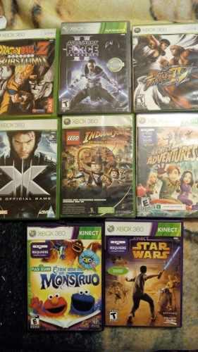 Juegos de x box 360 8 x $1000